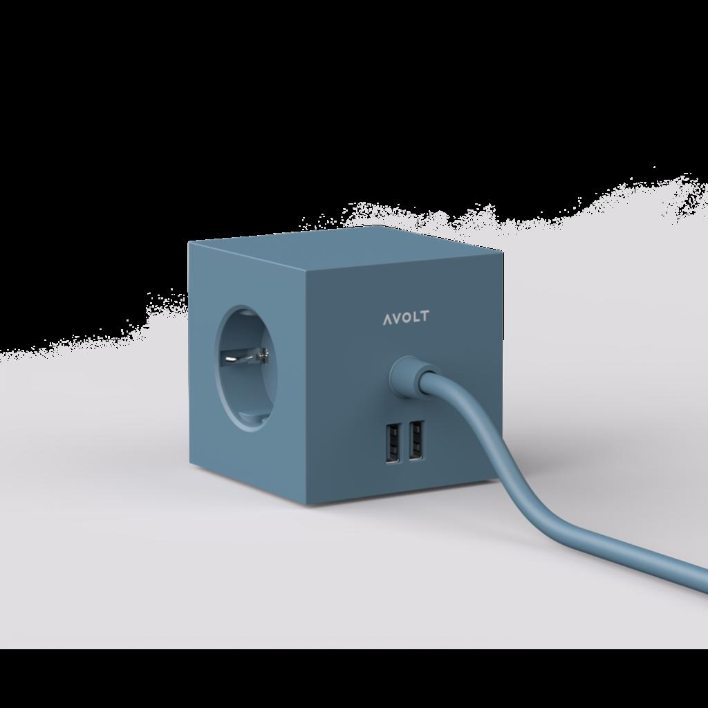 AVOLT AVOLT Square 1 USB Magnet Version Ocean Blue