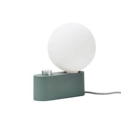 TALA Alumina Lamp Sage with Sphere G150 Bulb