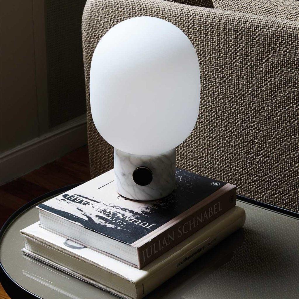 MENU JWDA Table Lamp, Marble, White