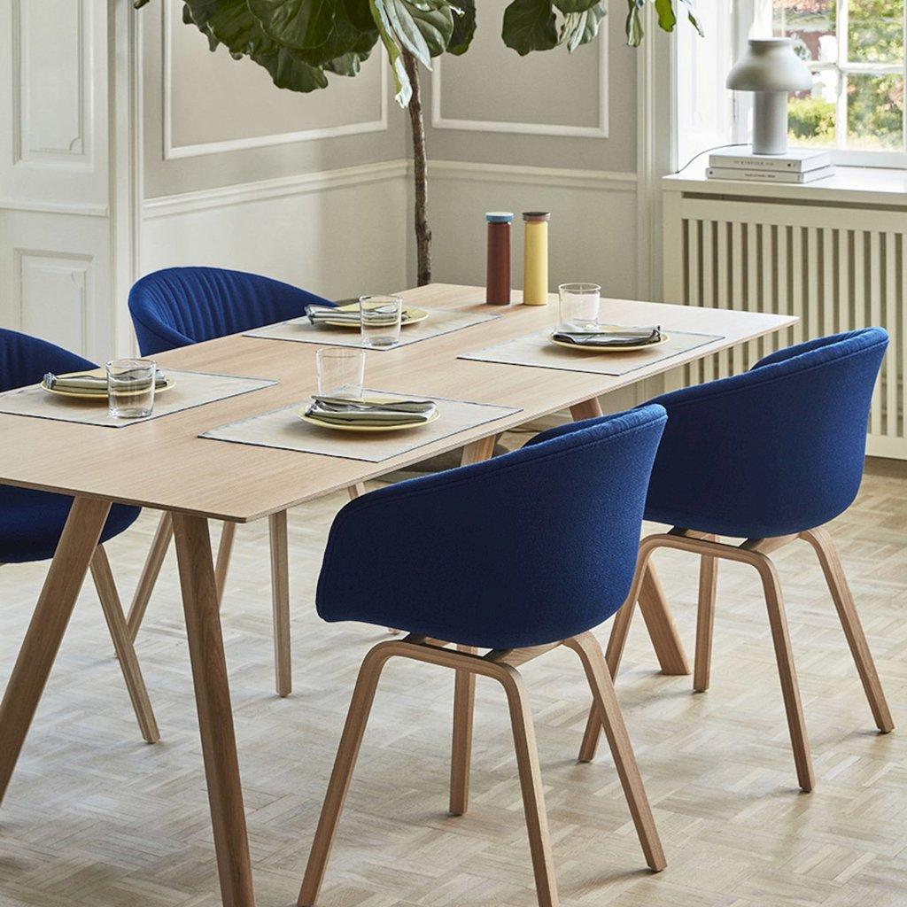 HAY CPH30 Table Extendable Oak frame & Plywood edge 200/400 x 90
