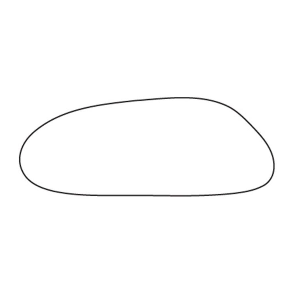 STUDIO HENK Eettafel Blob - Slim X-type - Eiken gerookt gebeitst - 200 x 100 cm