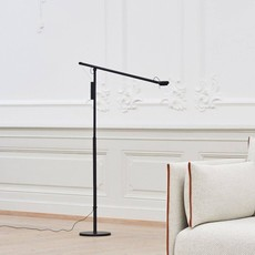 HAY Fifty-Fifty Floor Lamp Soft black