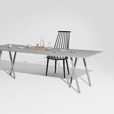HAY Loop Stand Table - 160 x 77 cm
