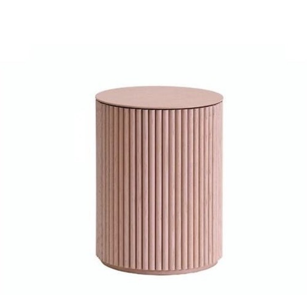 Asplund Petit Palais Sofa Table Dusty pink oak H55cm