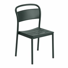 Muuto Linear Steel Side Chair - Dark Green