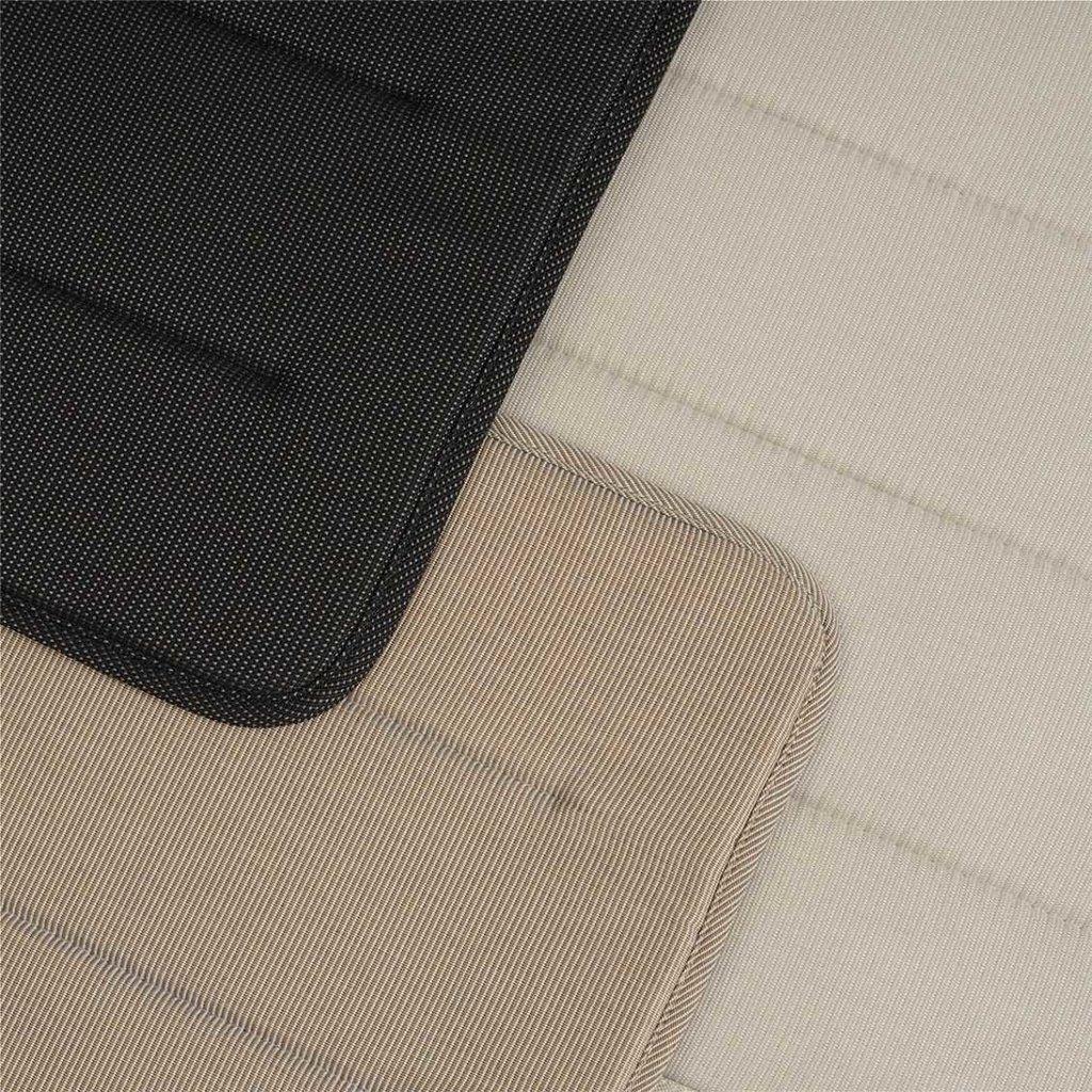Muuto Linear Steel Chair Seat Pad - Warm Beige