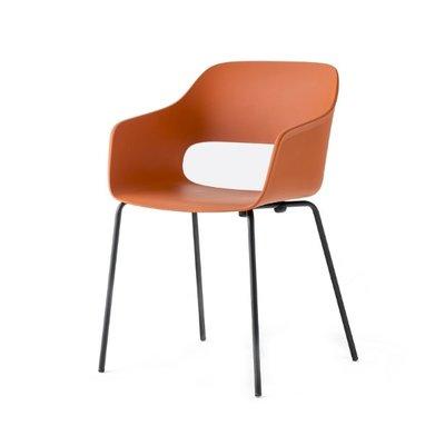 Pedrali Armchair BABILA 2735, orange, outdoor use