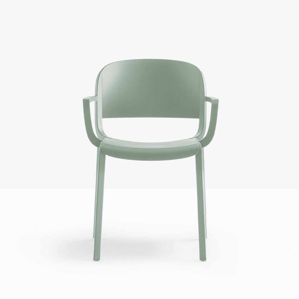 Pedrali Armchair DOME 265, green VE_1