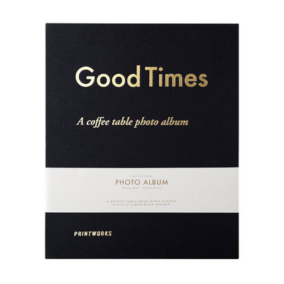 PRINTWORKS Photo album - Good Times - Black