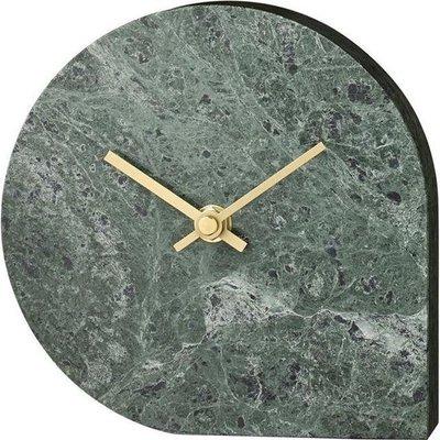 AYTM STILLA clock - Green Marble