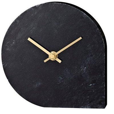 AYTM STILLA clock - Black marble
