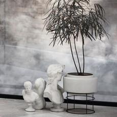 Bolia Botanique plant pot Ø50 cm Grey/Black