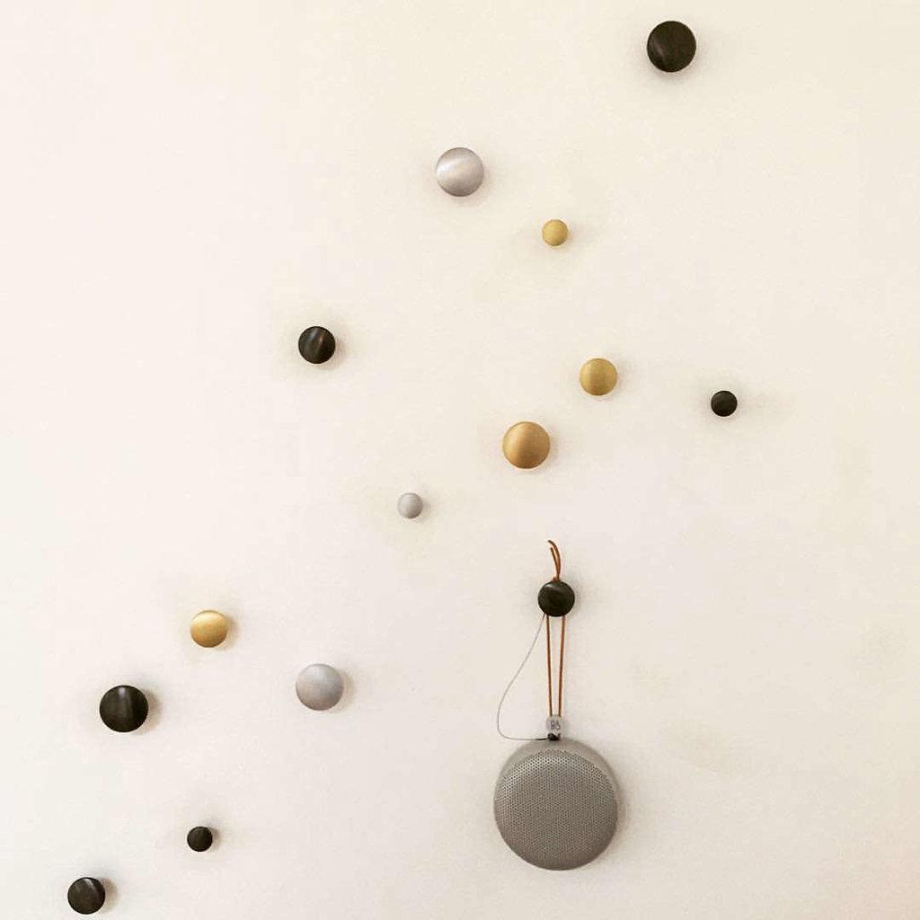 Muuto The Dots Metal - Set - Black