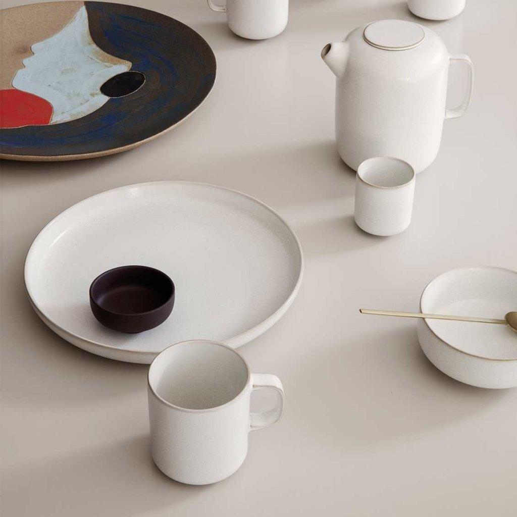 Ferm Living Sekki Plate - Large - Cream