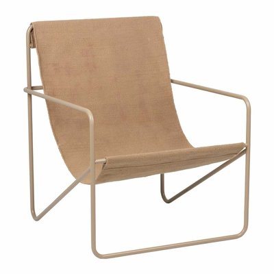 Ferm Living Desert Lounge Chair - Cashmere/Sand