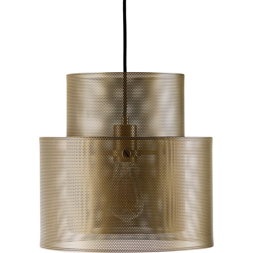 Bolia Cyla Pendant - Matt antique brass