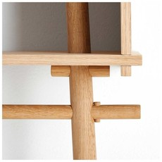 WOUD Töjbox Large White pigmented lacquered oak - SHOWROOM MODEL