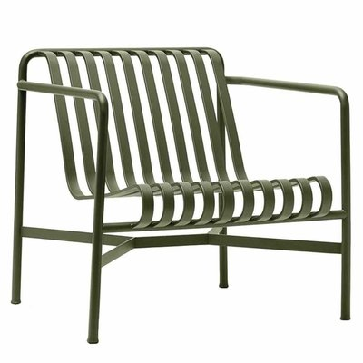 HAY Palissade Lounge Chair Low Olive - SHOWROOM MODEL