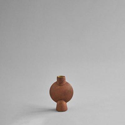 101 CPH Sphere Vase Bubl, Mini - Terracotta
