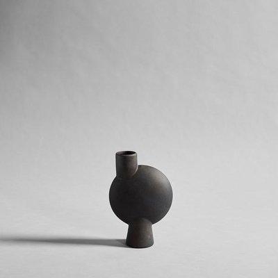 101 CPH Sphere Vase Bubl, Medio - Coffee