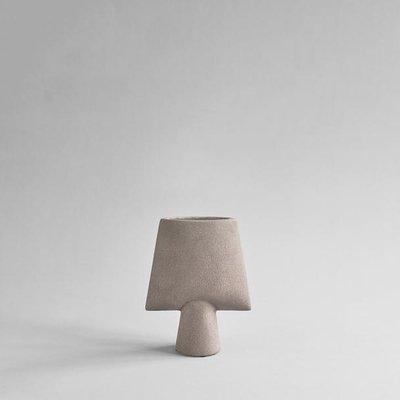 101 CPH Sphere Vase Square, Mini - Taupe