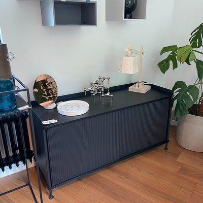 Muuto Enfold Sideboard - Low - Black/Black - SHOWROOM MODEL