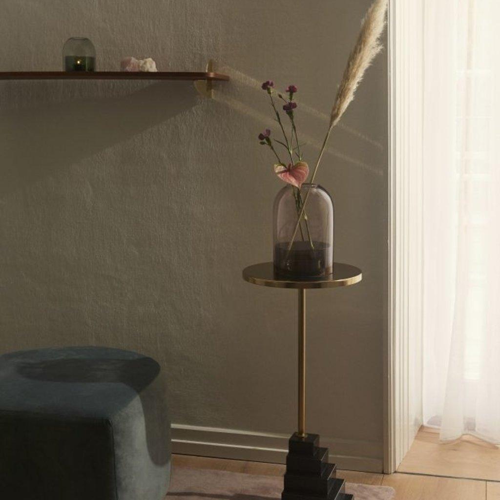 AYTM TOTA lantern for tealight S Black & Forest