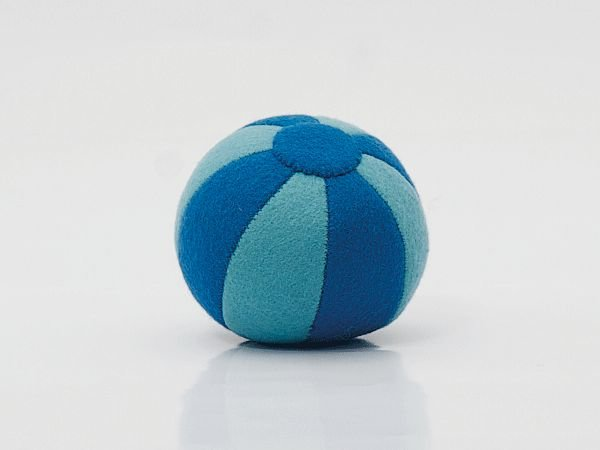 Vilten bal blauw