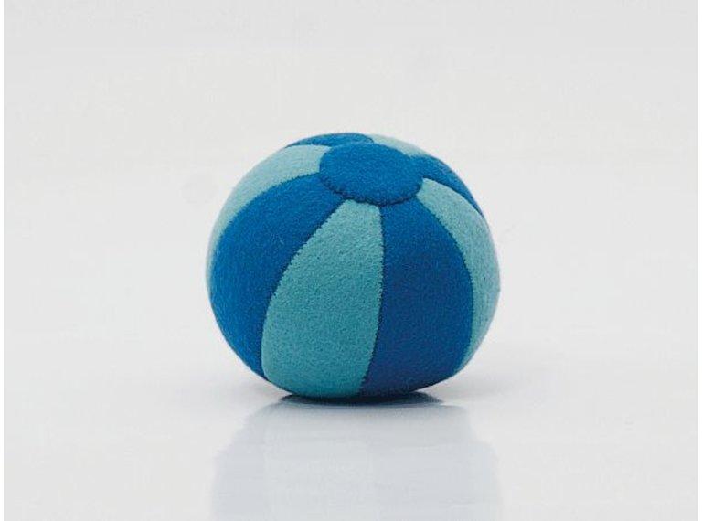 Wonen voor jou Vilten bal blauw
