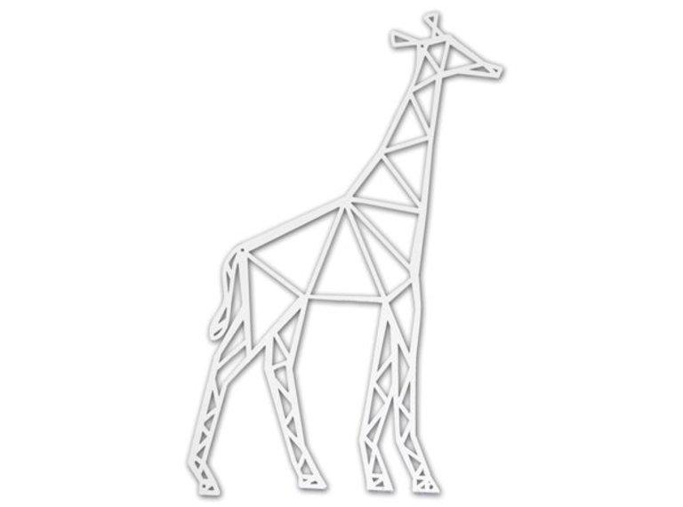 Wonen voor jou Giraffe metalen wanddecoratie