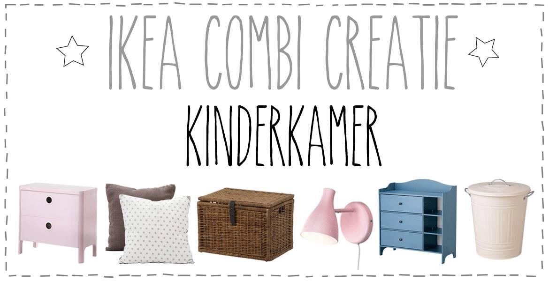 Ikea combi-creatie Kinderkamer