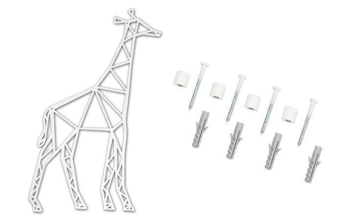 Aan de slag met onze giraffe