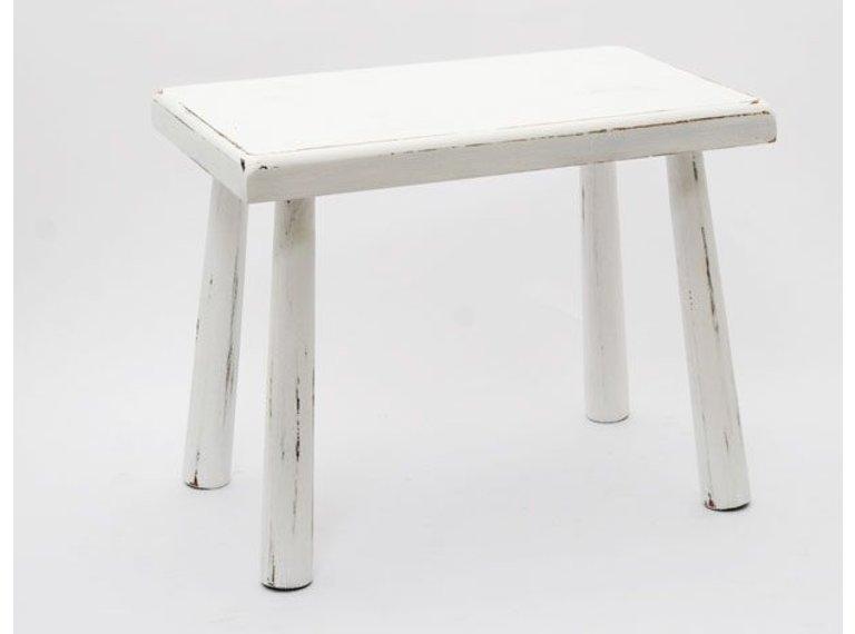 Wonen voor jou Wit tafeltje ronde poten
