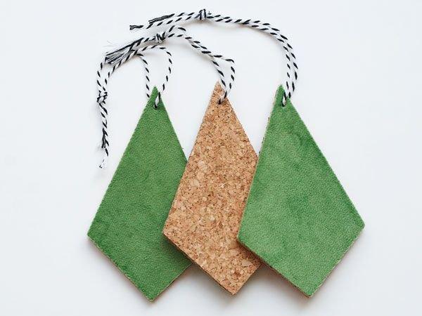 Hangers kurk groen