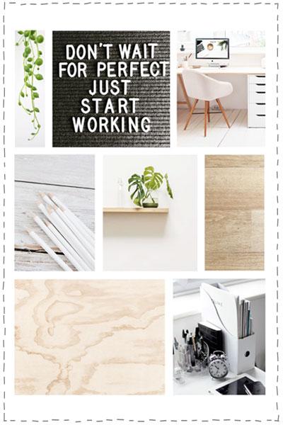 werkkamer scandinavische stijl