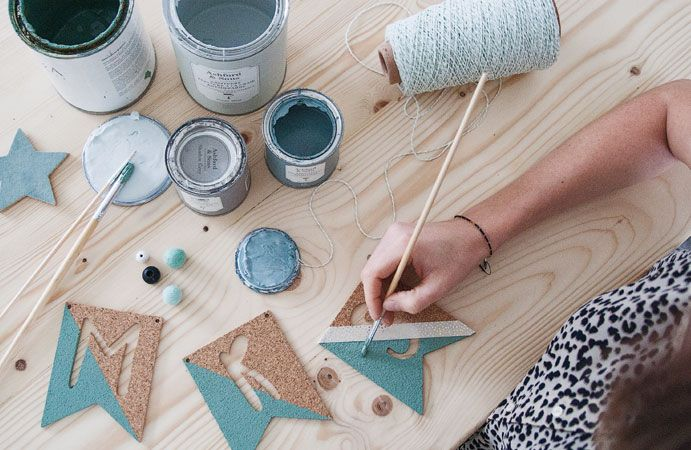 Workshops vlaggetjes pimpen op Creative Life