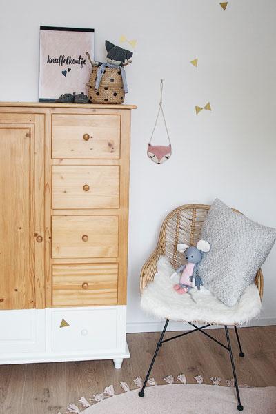 Babykamer inspiratie roze