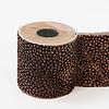 Brandedby Kandelaar hout - leer dierenprint