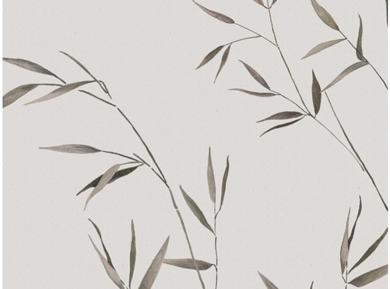 Wonen voor jou Behang bamboe linnen
