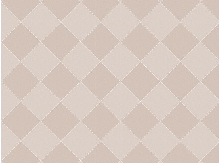 Wonen voor jou Behang gekanteld grid taupe