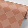 Wonen voor jou Behang gekanteld grid roestbruin