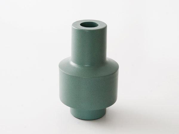 Kandelaar vase groen