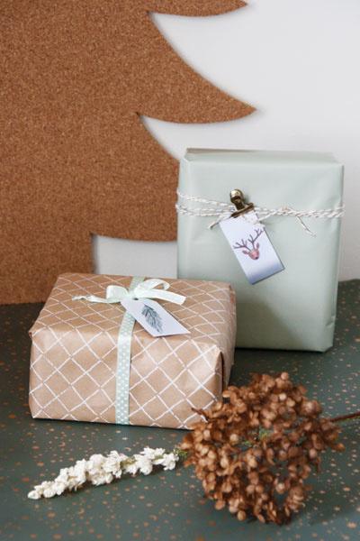 Free printable cadeaulabels kerst