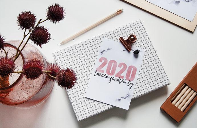 Free printable voor 2020