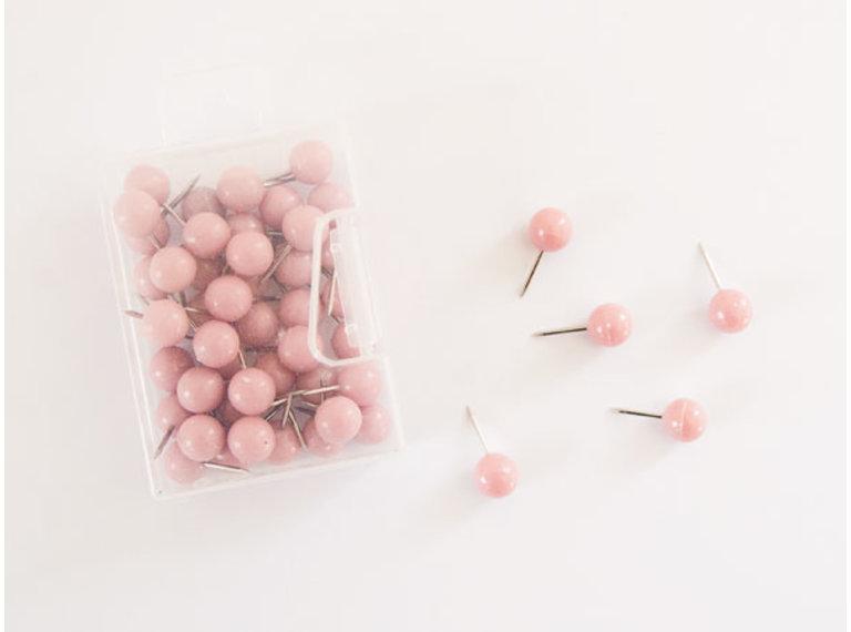 Wonen voor jou Accessoires Doosje roze punaises
