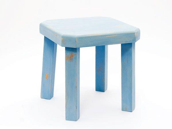 Blauw tafeltje