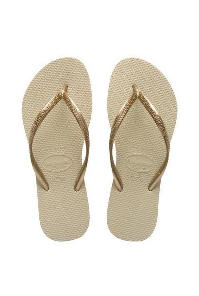 Havaianas Slim Metallic Flip Flops