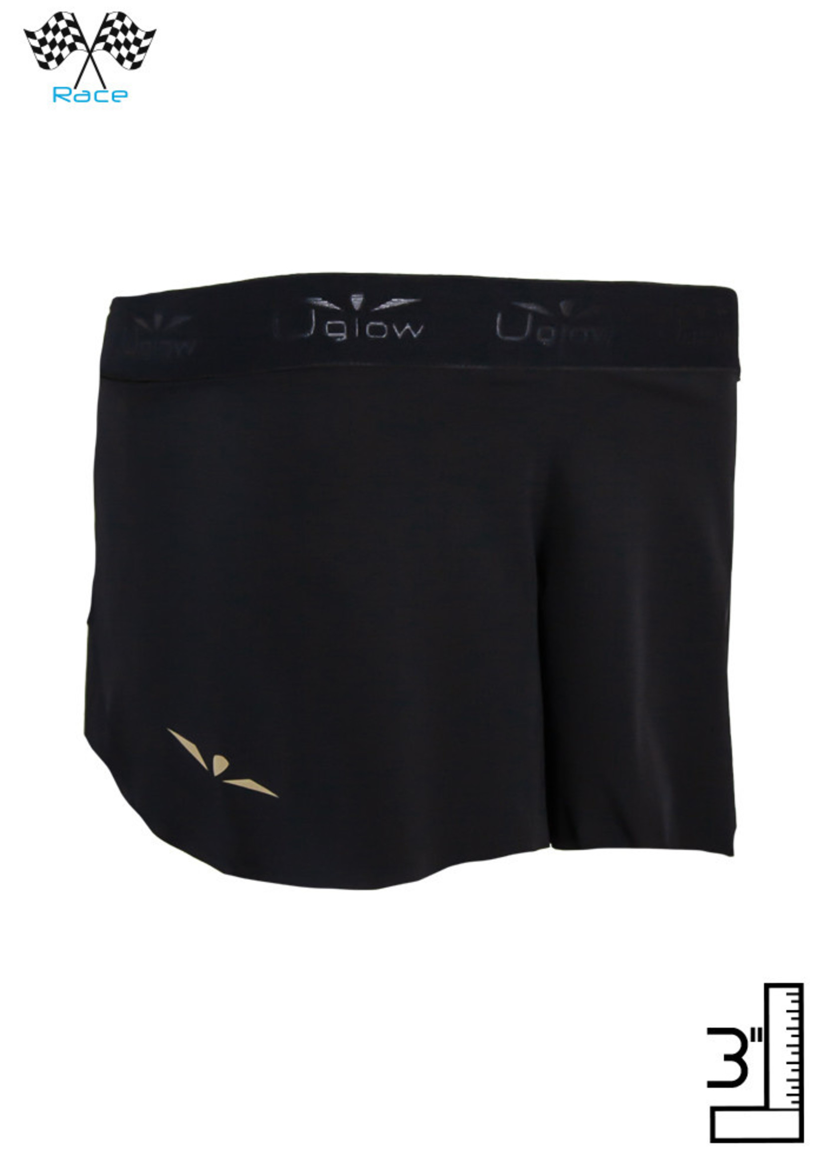 Uglow Sport Uglow RACE Tanga Short 3 Women's