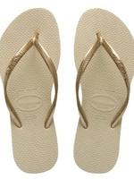 Havaianas Havaianas SLIM METALLIC Womens Flip Flops