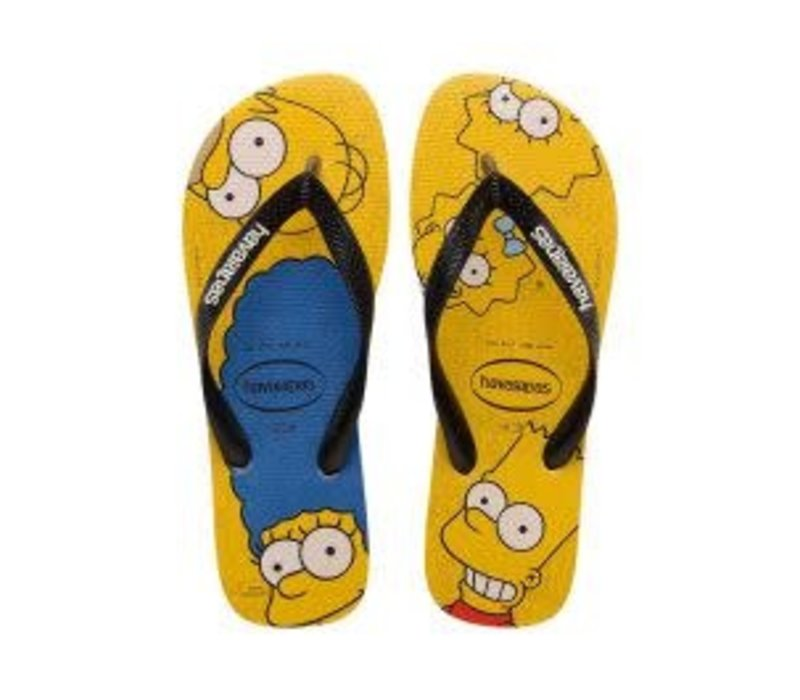 Havaianas SIMPSONS Mens Flip Flops